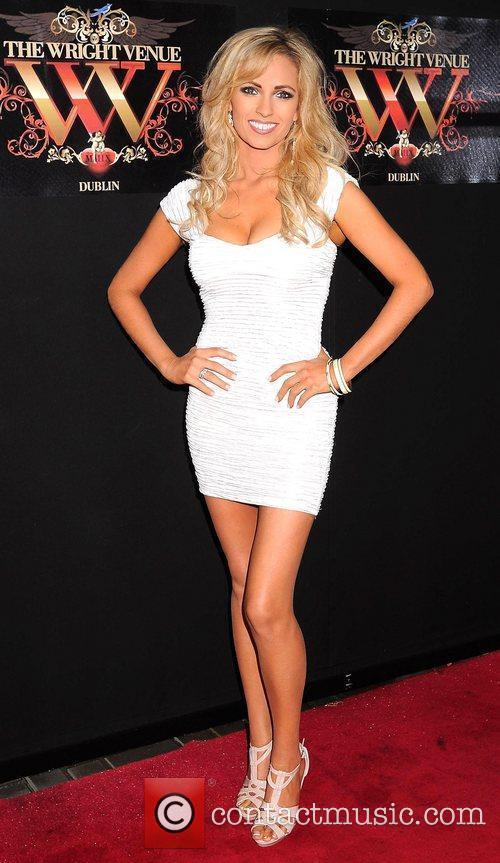 Pam Richardson Miss Universe Ireland 2010 at the...