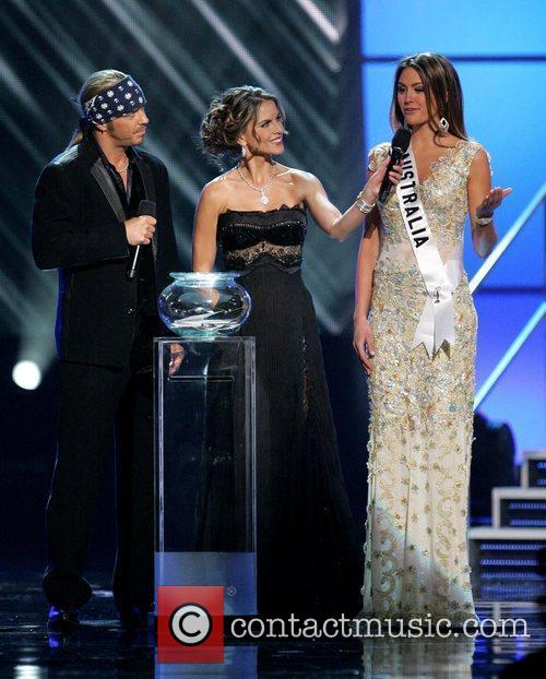 Bret Michaels, Natalie Morales and Miss Australia Jesinta...