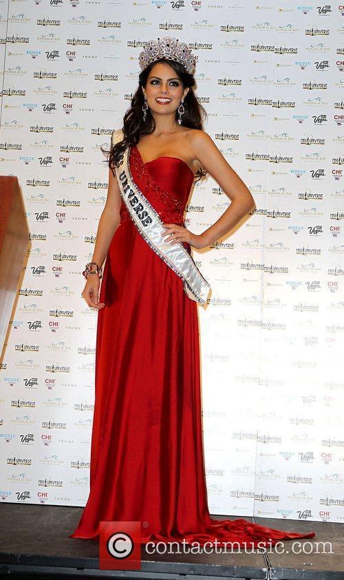 Miss Mexico Jimena Navarrete is announced as Miss...