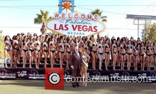2010 Contestants 2010 Miss Universe contestant photo shoot...