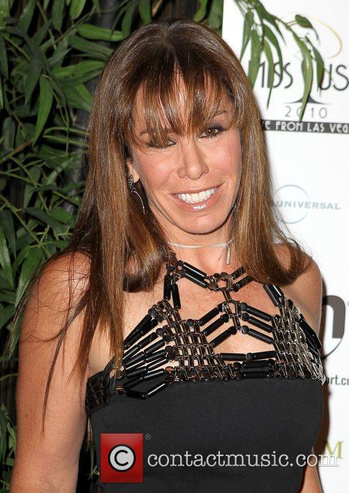 Melissa Rivers arrives at the Miss USA 2010...
