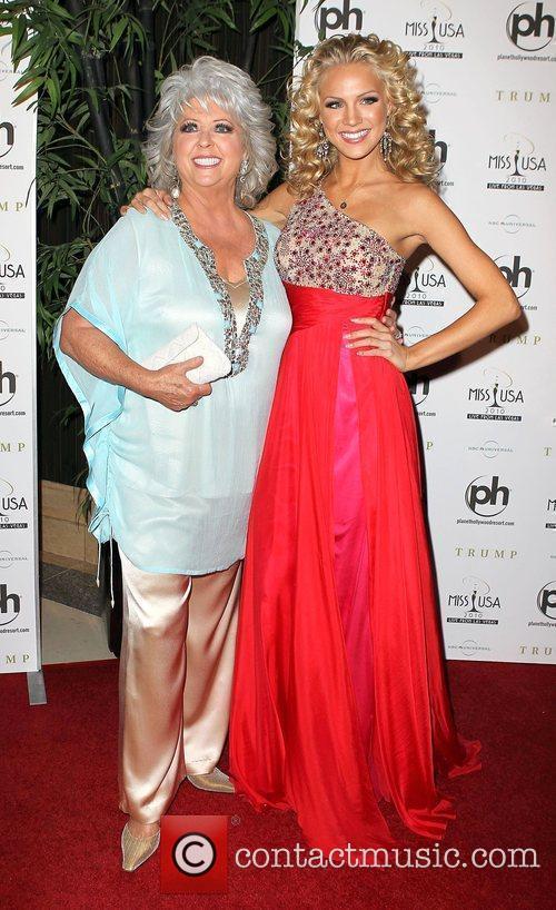 Paula Deen, Kristen Dalton arrives at the Miss...