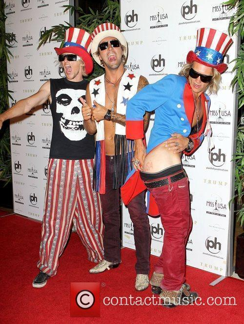 The Dudesons arrives at the Miss USA 2010...