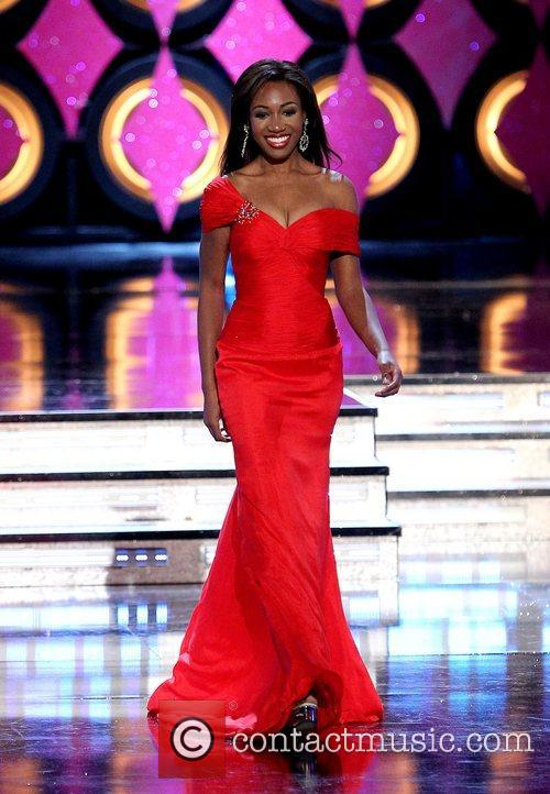 Miss Rhode Island Deborah Saint-Vil