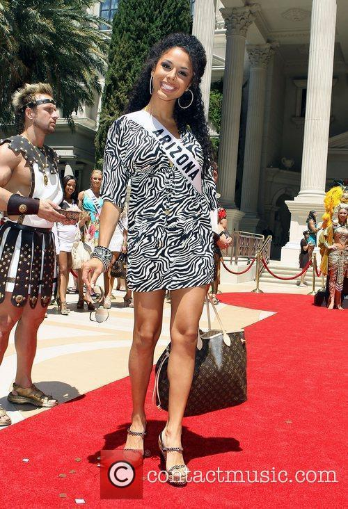 Miss Arizona Brittany Bell Caesars Palace Garden Of...