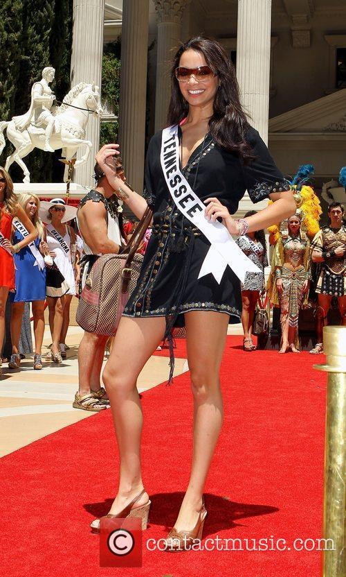 Miss Tennessee Tucker Perry Caesars Palace Garden Of...