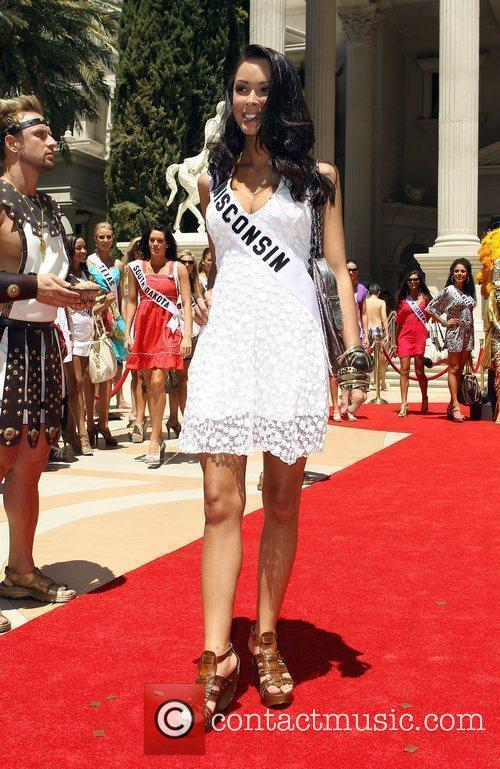 Miss Wisconsin Courtney Lopez Caesars Palace Garden Of...