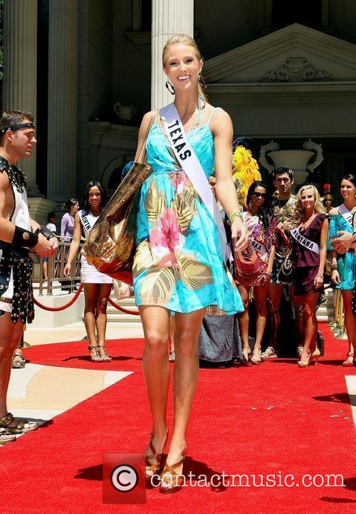 Miss Texas Kelsey Moore Caesars Palace Garden Of...