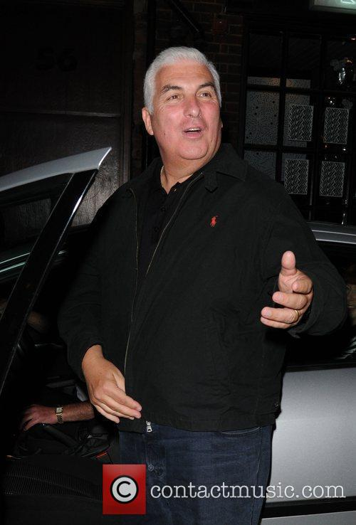 Mitch Winehouse leaving Jazz After Dark in London's...