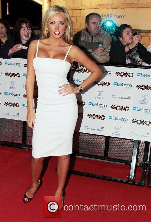 Aisleyne Horgan-Wallace  MOBO Awards 2010 held at...
