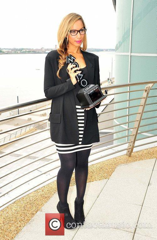 Leona Lewis Press conference at the Echo Arena...