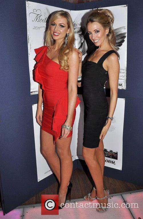Rosanna Davison, Suzanne McCabe,  at the 'Models...