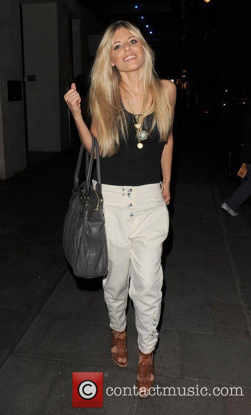 Mollie King from girl group The Saturdays, leaving...
