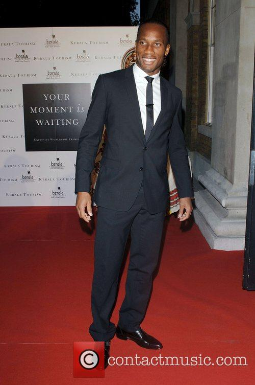 Didier Drogba,  Launch Party of 'Your Moment...