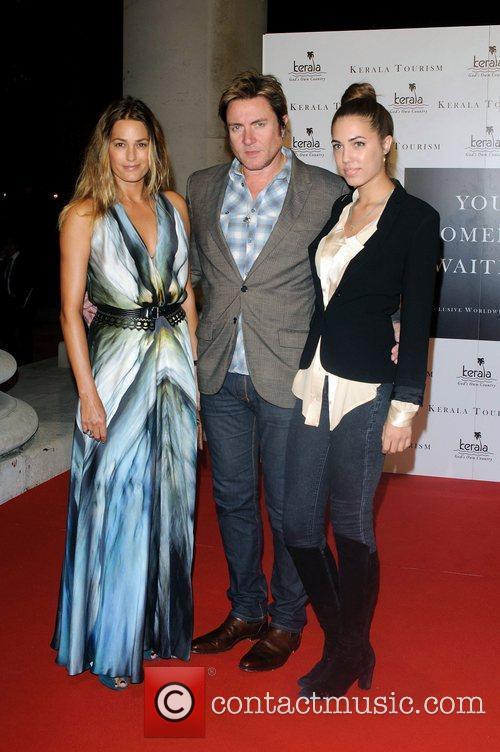 Yasmin Le Bon, Simon Le Bon and Amber...