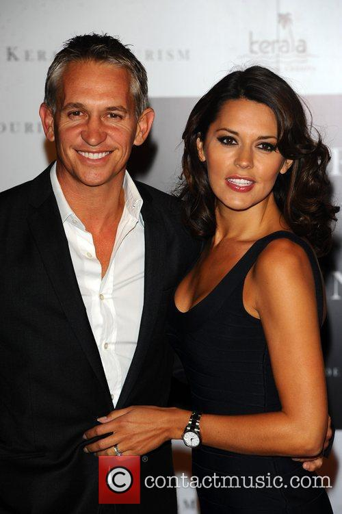 Gary Linekar and Danielle Lineker Launch Party of...