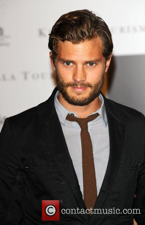 Jamie Dornan who is starring in New Worlds