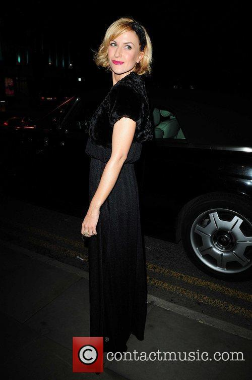 Arrives at the Midland Hotel for a charity...