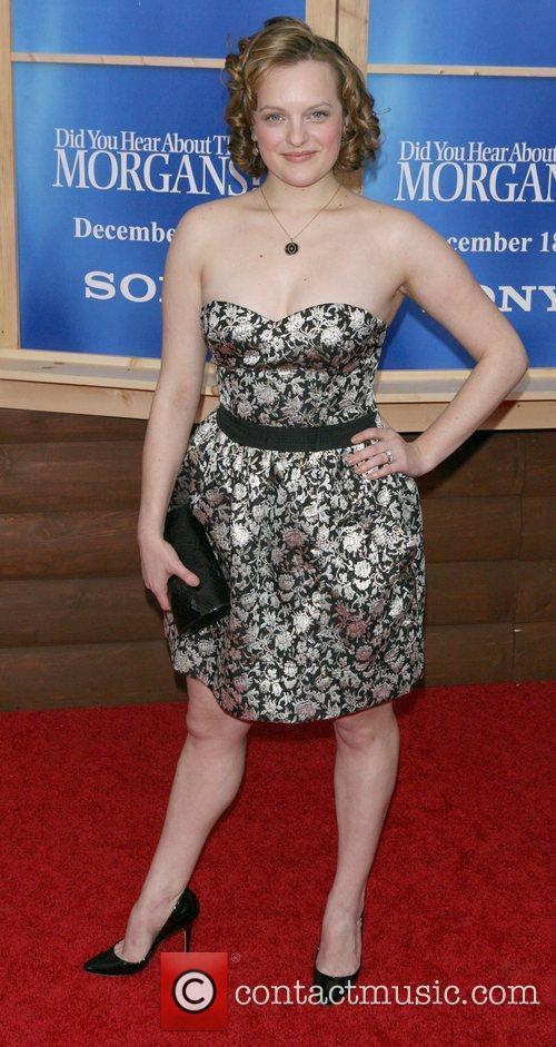 Elizabeth Moss arrives to the NY premiere of...