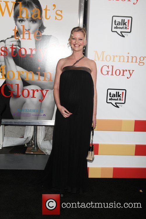 Gretchen Mol  the World premiere of 'Morning...