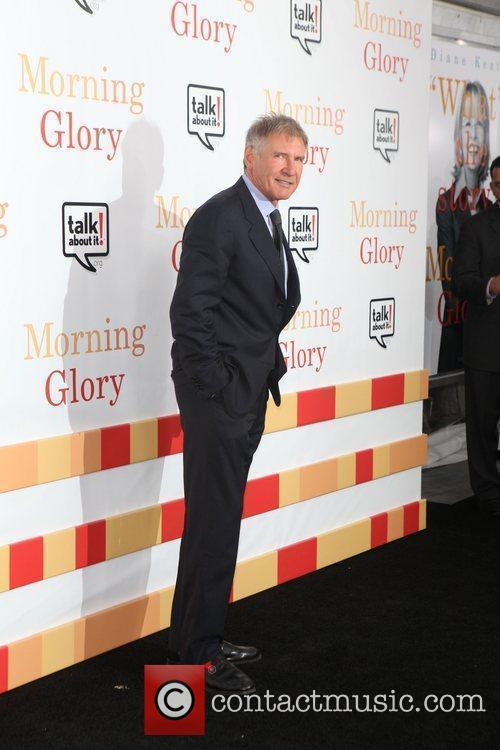 Harrison Ford  world premiere of Morning Glory...