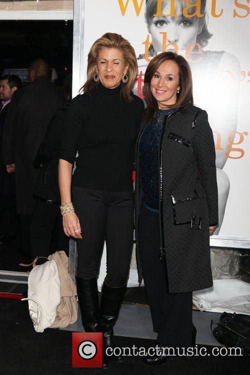 Hoda Kotb, Rosanna Scotto  the World premiere...