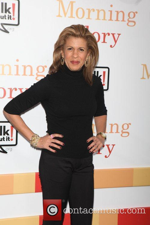Hoda Kotb  the World premiere of 'Morning...