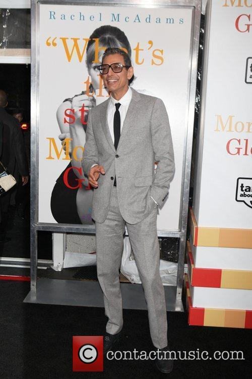 Jeff Goldblum  the World premiere of 'Morning...