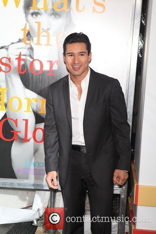 Mario Lopez  the World premiere of 'Morning...