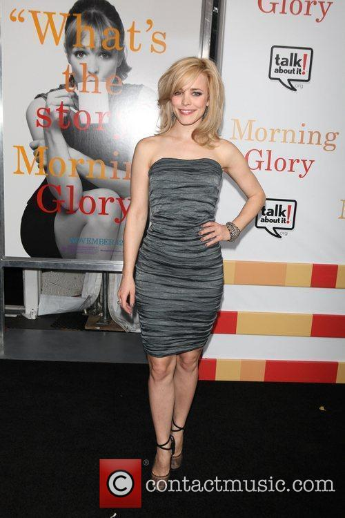 Rachel McAdams  the World premiere of 'Morning...
