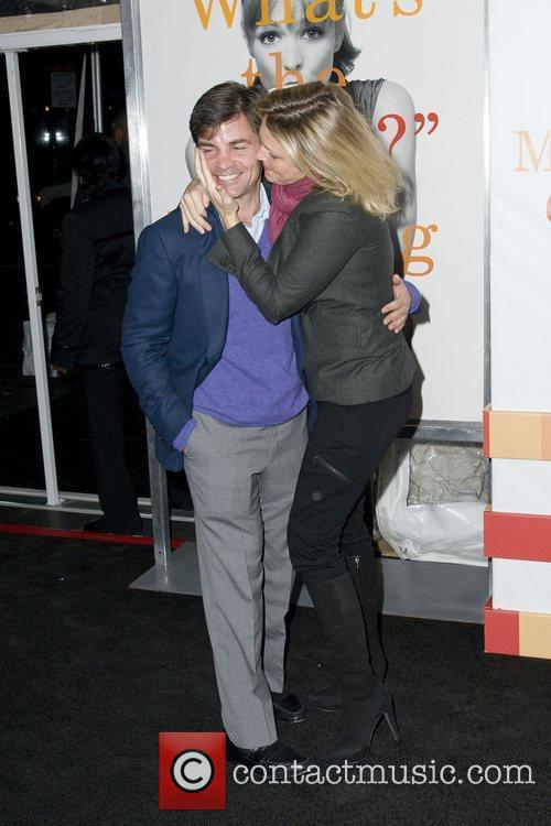 Alexandra Wentworth and George Stephanopoulos The World premiere...