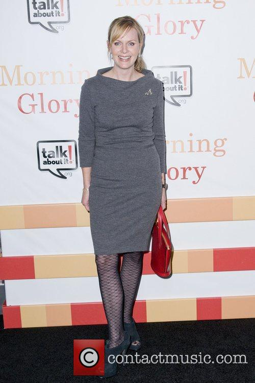 Sherryl Clark The World premiere of 'Morning Glory'...