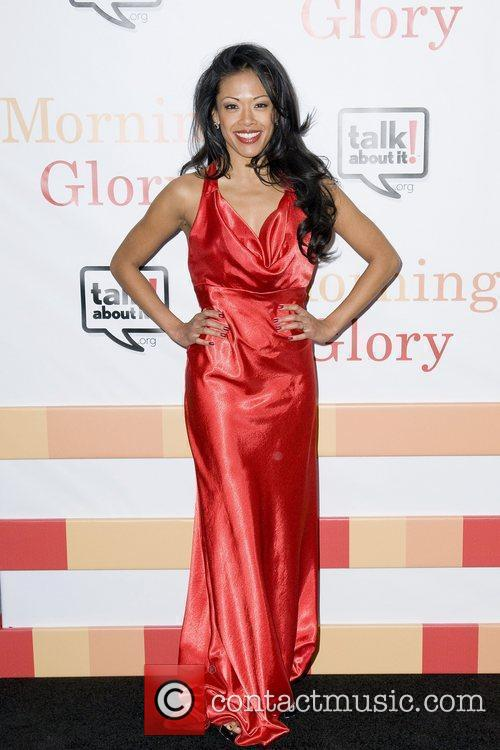 Elaine Marcos The World premiere of 'Morning Glory'...