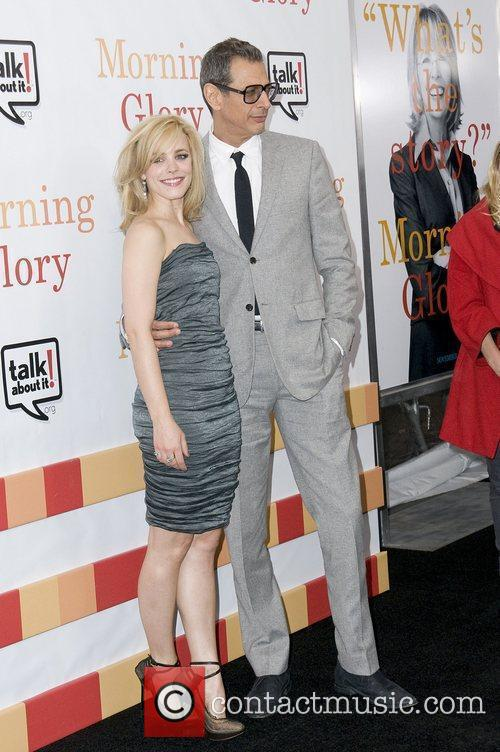 Jeff Goldblum and Rachel McAdams The World premiere...