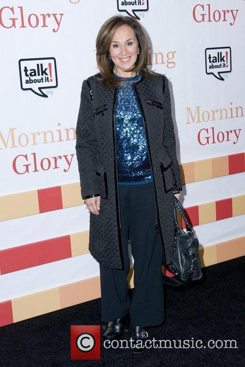 Rosanna Scotto The World premiere of 'Morning Glory'...