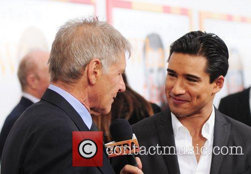 Harrison Ford and Mario Lopez The World premiere...