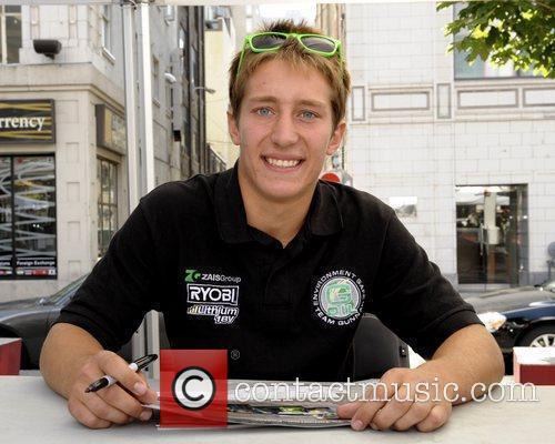 Frankie Montecalvo  'Mosport RaceFest 2010' driver autograph...