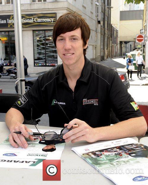 'Mosport RaceFest 2010' driver autograph session held at...