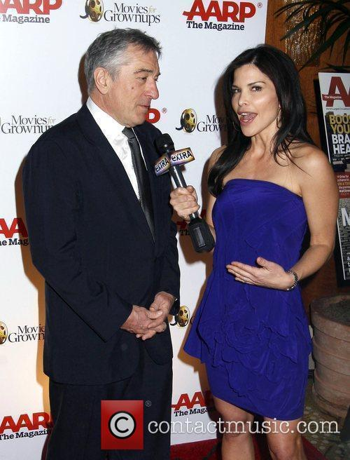 Robert De Niro and Lauren Sanchez 3