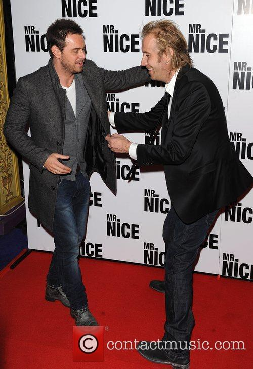 Danny Dyer and Rhys Ifans 1
