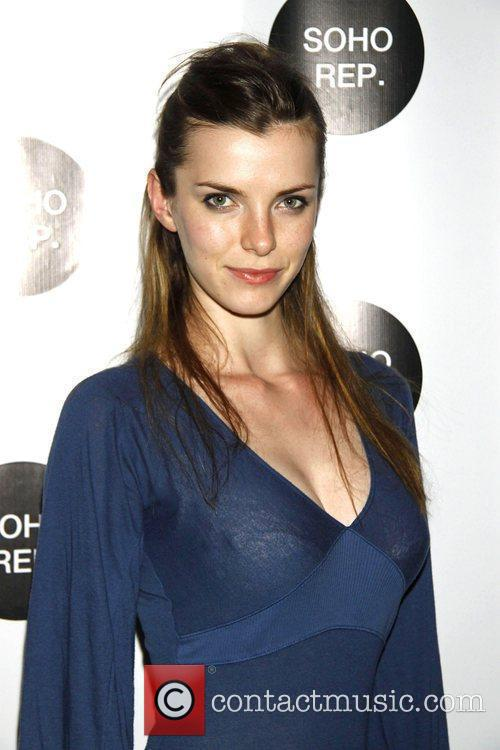 Betty Gilpin Soho Rep after party benefit performance...