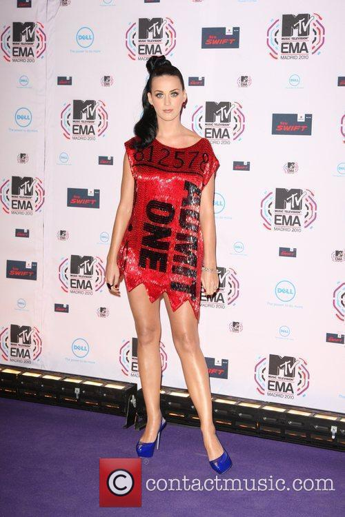 Katy Perry MTV Europe Music Awards 2010 at...
