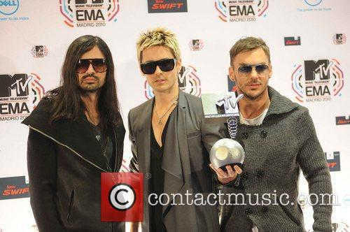 30 Seconds To Mars, Jared Leto and Mtv 2
