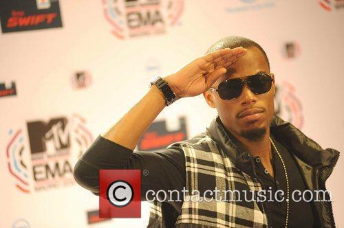 B.O.B MTV Europe Music Awards 2010 at the...