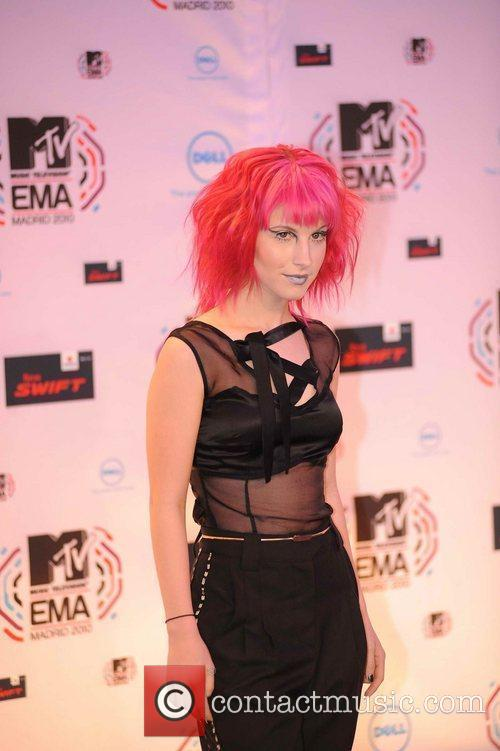 Hayley Williams and Mtv 4