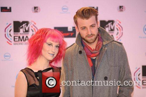Hayley Williams (paramore), Guest MTV Europe Music Awards...