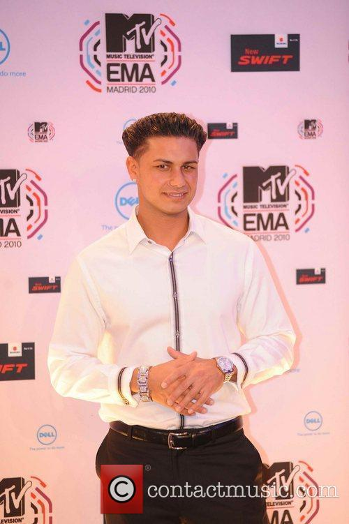 Pauly D from the Jersey Shore MTV Europe...