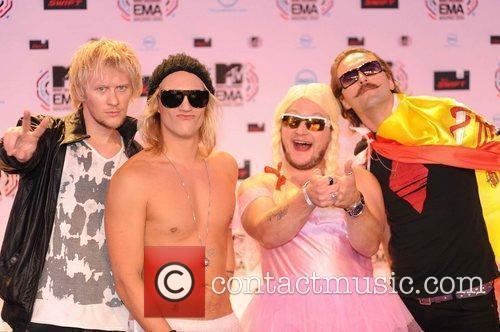 The Dudeson's MTV Europe Music Awards 2010 at...