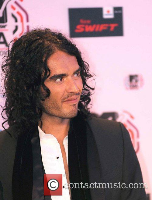 Russell Brand MTV Europe Music Awards 2010 at...