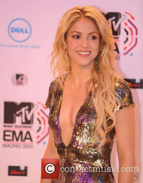 Shakira and Mtv 7